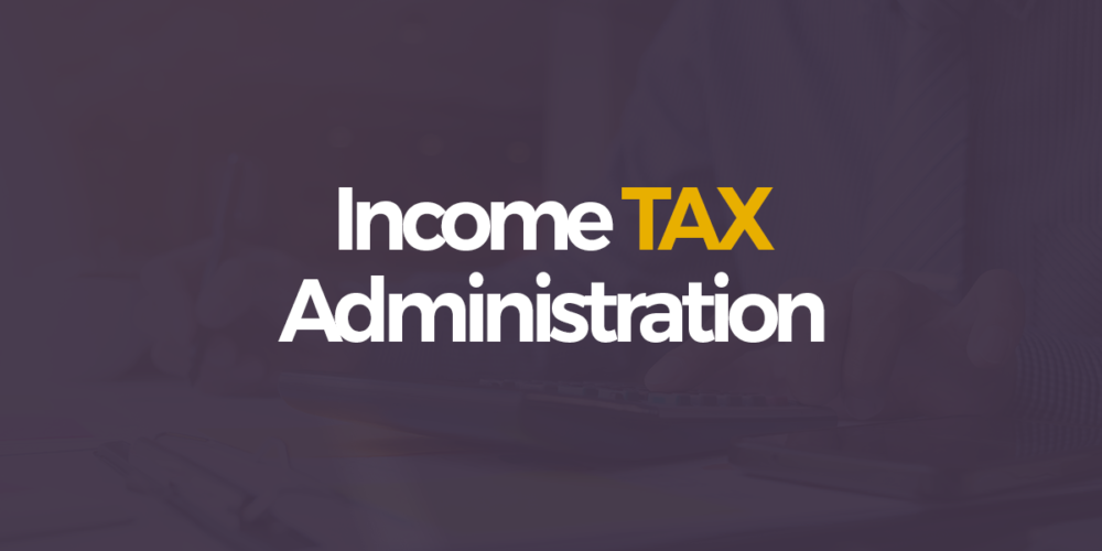 Income Tax Administration Sri Lanka