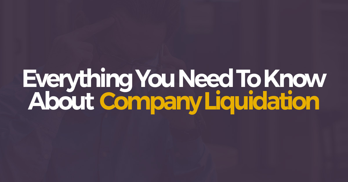 Liquidating a company with no assets at death