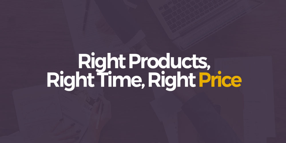 Right products , Right time ,Right price – Sales agreement