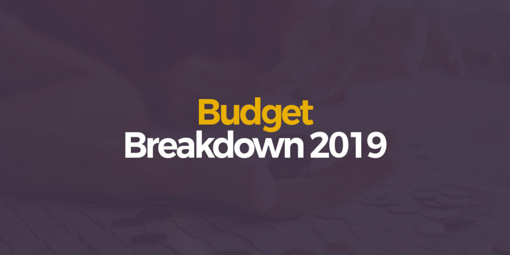 Budget 2019: A Basic Breakdown